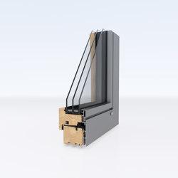 Aluminum clad wood windows | DesignLine | Window types | Unilux