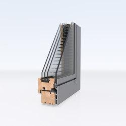Aluminum clad wood windows | DesignLine Privacy | Window types | Unilux