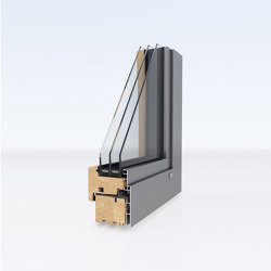 Aluminum clad wood windows | ModernLine | Window types | Unilux