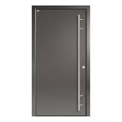 Aluminum clad wood entry doors | Design Type 1100 | Entrance doors | Unilux
