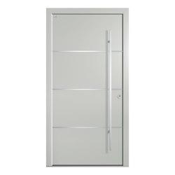 Aluminum clad wood entry doors | Design Type 1101 | Entrance doors | Unilux