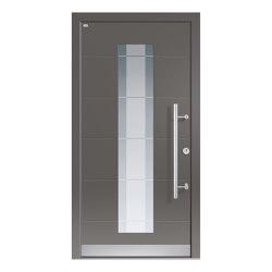 Aluminum clad wood entry doors | Design Type 1107 | Entrance doors | Unilux