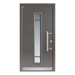 Aluminum clad wood entry doors | Design Type 1108 | Entrance doors | Unilux