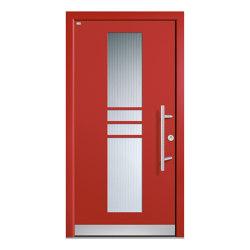 Aluminum clad wood entry doors | Design Type 1109 | Entrance doors | Unilux