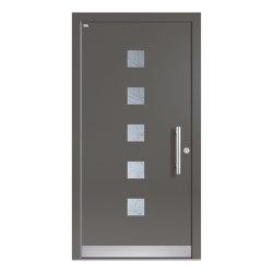 Aluminum clad wood entry doors | Design Type 1114 | Entrance doors | Unilux