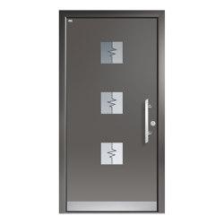 Aluminum clad wood entry doors | Design Type 1115 | Entrance doors | Unilux
