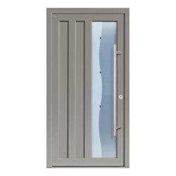 Aluminum clad wood entry doors | Design Type 1201 | Entrance doors | Unilux