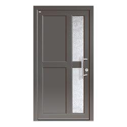 Aluminum clad wood entry doors | Design Type 1202 | Entrance doors | Unilux