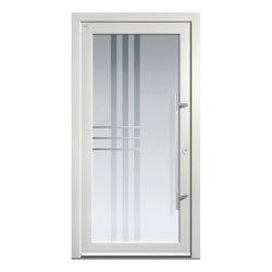 Aluminum clad wood entry doors | Design Type 1211 | Entrance doors | Unilux