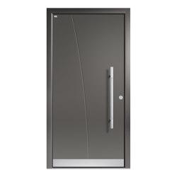 Aluminum clad wood entry doors | Elegance Type 1103 | Entrance doors | Unilux