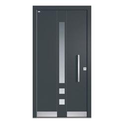 Aluminum clad wood entry doors | Elegance Type 1111 | Entrance doors | Unilux