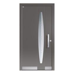 Aluminum clad wood entry doors | Elegance Type 1117 | Entrance doors | Unilux