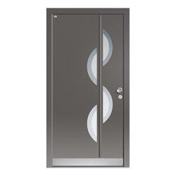 Aluminum clad wood entry doors | Elegance Type 1119 | Entrance doors | Unilux