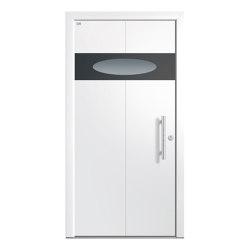 Aluminum clad wood entry doors | Elegance Type 1123 | Entrance doors | Unilux