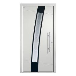 Aluminum clad wood entry doors | Elegance Type 1124 | Entrance doors | Unilux