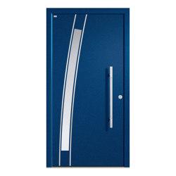 Aluminum clad wood entry doors | Elegance Type 1125 | Entrance doors | Unilux