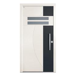 Aluminum clad wood entry doors | Elegance Type 1127 | Entrance doors | Unilux