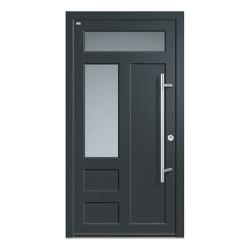 Aluminum clad wood entry doors | History Type 1203 | Entrance doors | Unilux