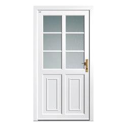 Aluminum clad wood entry doors | History Type 1204 | Entrance doors | Unilux