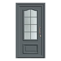 Aluminum clad wood entry doors | History Type 1206 | Entrance doors | Unilux