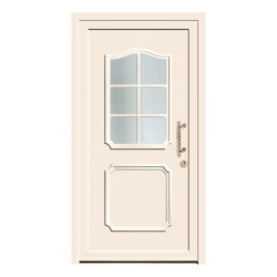 Aluminum clad wood entry doors | History Type 1208 | Entrance doors | Unilux