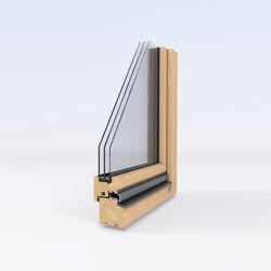 Wooden windows | Wooden Meister window slanted | Window types | Unilux