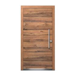 Wooden entry doors | ExclusivLine Model 2400 | Entrance doors | Unilux