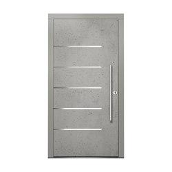 Wooden entry doors | ExclusivLine Model 2402 | Entrance doors | Unilux