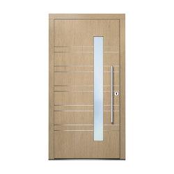 Wooden entry doors | ExclusivLine Model 2404 | Entrance doors | Unilux