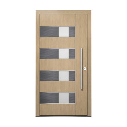 Wooden entry doors | ExclusivLine Model 2406 | Entrance doors | Unilux