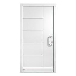 Wooden entry doors | HighLine Model 2102 | Entrance doors | Unilux