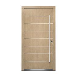 Wooden entry doors | HighLine Model 2103 | Entrance doors | Unilux