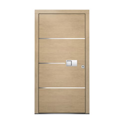 Wooden entry doors | HighLine Model 2104 | Entrance doors | Unilux