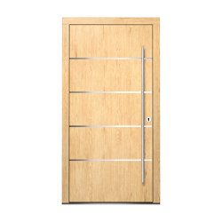 Wooden entry doors | HighLine Model 2106 | Entrance doors | Unilux
