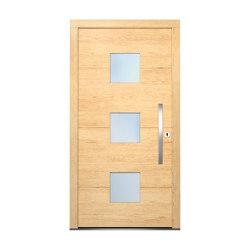 Wooden entry doors | HighLine Model 2109 | Entrance doors | Unilux