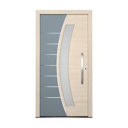 Wooden entry doors | HighLine Model 2114 | Entrance doors | Unilux