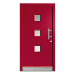 Wooden entry doors | HighLine Model 2128 | Entrance doors | Unilux