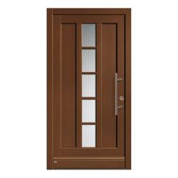 Wooden entry doors | HighLine Model 2218 | Entrance doors | Unilux