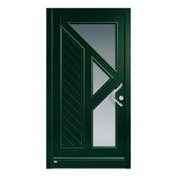 Wooden entry doors | HighLine Model 2222 | Entrance doors | Unilux