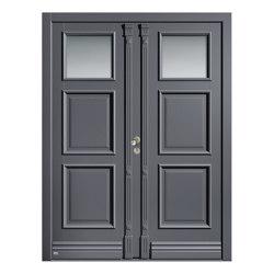 Wooden entry doors | HighLine Model 2302 | Entrance doors | Unilux