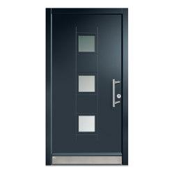 Wooden entry doors | JuniorLine Model 2015 | Entrance doors | Unilux