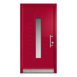 Wooden entry doors | JuniorLine Model 2018 | Entrance doors | Unilux