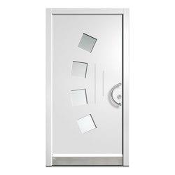 Wooden entry doors | JuniorLine Model 2023 | Entrance doors | Unilux