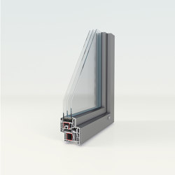 Aluminum clad uPVC windows | IsoStar-Alu | Window types | Unilux