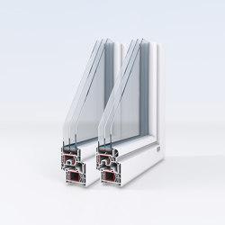 uPVC windows | IsoPlus | Window types | Unilux