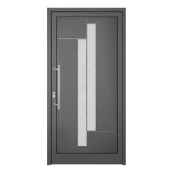 uPVC entry doors | IsoStar Model 7104 | Entrance doors | Unilux