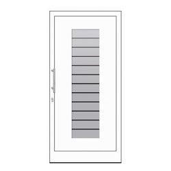 uPVC entry doors | IsoStar Model 7106 | Entrance doors | Unilux