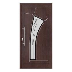 uPVC entry doors | IsoStar Model 7107 | Entrance doors | Unilux
