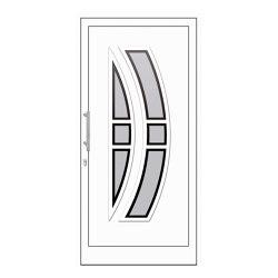 uPVC entry doors | IsoStar Model 7108 | Entrance doors | Unilux