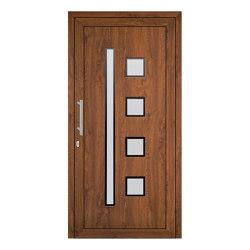uPVC entry doors | IsoStar Model 7109 | Entrance doors | Unilux